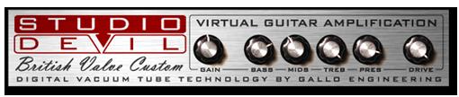 Studio Devil BVC ingyenes gitárelőfok plugin